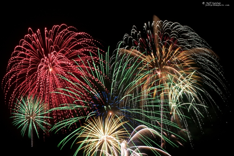 Fireworks Composite