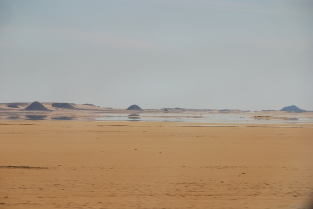 "Luftspeiling i Egypt. Bilde: ""Mirage in the Desert"", Michael Gwyther-Jones//Flickr/CC lisence."