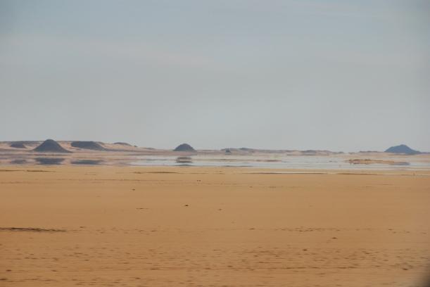 """Luftspeiling i Egypt. Bilde: """"Mirage in the Desert"""", Michael Gwyther-Jones//Flickr/CC lisence."""