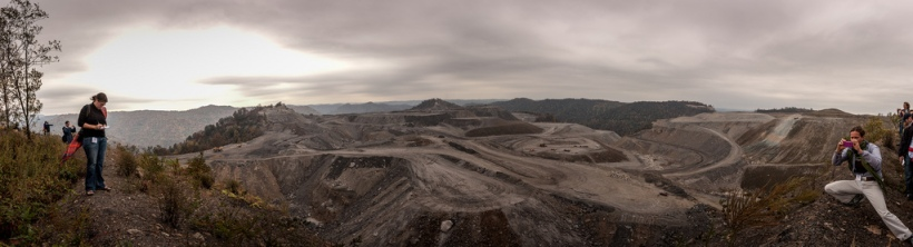 Mountaintop removal mining, West Virginia. Bilde:  Dennis Dimick/Flickr/CC license