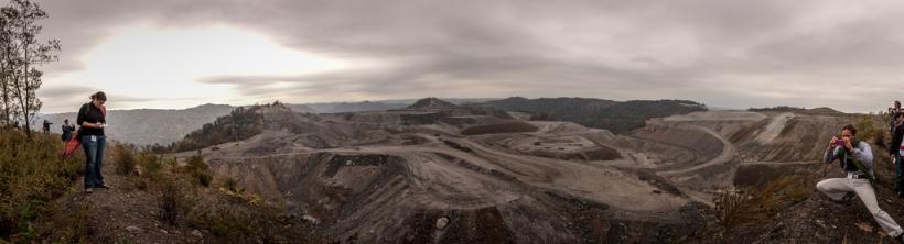 Mountaintop removal mining, West Virginia. Bilde:  Dennis Dimick/Flickr/CC license