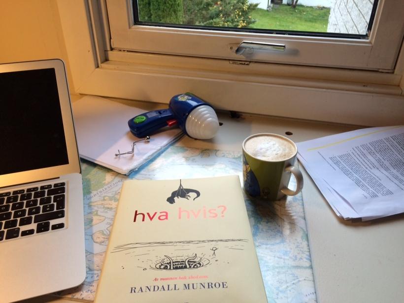 Morgenstund med fin bok.